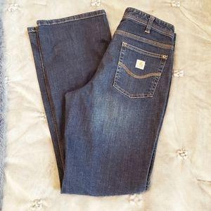 Carhartt original fit ladies 10 T dark wash jeans